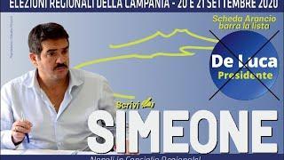 Intervista al candidato. Elezioni regionali Campania 2020
